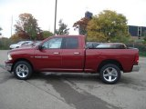2012 Deep Cherry Red Crystal Pearl Dodge Ram 1500 Big Horn Quad Cab 4x4 #71633684