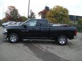 2012 Black Dodge Ram 1500 ST Quad Cab 4x4 #71633683