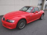 2001 BMW Z3 Bright Red