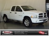 2003 Bright White Dodge Ram 1500 SLT Quad Cab 4x4 #71633943