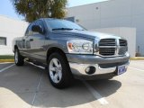 2008 Mineral Gray Metallic Dodge Ram 1500 Lone Star Edition Quad Cab #71634221