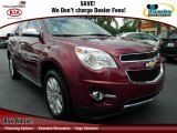 2010 Cardinal Red Metallic Chevrolet Equinox LTZ #71634210
