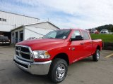 2012 Flame Red Dodge Ram 3500 HD ST Crew Cab 4x4 #71633889