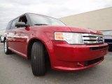2009 Ford Flex Redfire Metallic