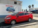 2013 Race Red Ford Fiesta SE Sedan #71633606