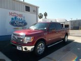 2013 Ruby Red Metallic Ford F150 XLT SuperCrew #71633602