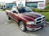 2003 Dark Garnet Red Pearl Dodge Ram 1500 SLT Regular Cab #71634137