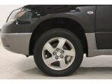 Mitsubishi Outlander 2004 Wheels and Tires