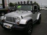 2011 Bright Silver Metallic Jeep Wrangler Sahara 4x4 #71633508