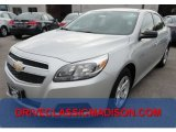 2013 Silver Ice Metallic Chevrolet Malibu LS #71634076
