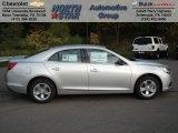 2013 Silver Ice Metallic Chevrolet Malibu LS #71687954