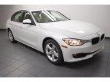 2013 Mineral White Metallic BMW 3 Series 328i Sedan #71688238