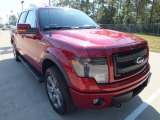 2013 Ruby Red Metallic Ford F150 FX4 SuperCrew 4x4 #71688493