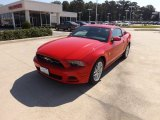 2013 Race Red Ford Mustang V6 Premium Coupe #71688218