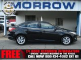 2012 Tuxedo Black Metallic Ford Focus SEL Sedan #71687892