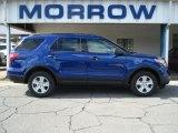 2013 Deep Impact Blue Metallic Ford Explorer 4WD #71687889