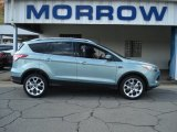 2013 Frosted Glass Metallic Ford Escape Titanium 2.0L EcoBoost 4WD #71687887