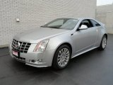 Radiant Silver Metallic Cadillac CTS in 2013