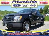 2010 Tuxedo Black Ford F150 XL SuperCrew 4x4 #71687866