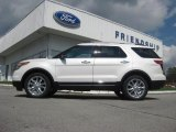 2013 White Platinum Tri-Coat Ford Explorer XLT 4WD #71687860