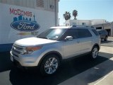 2013 Ingot Silver Metallic Ford Explorer Limited #71687827