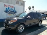 2013 Tuxedo Black Metallic Ford Explorer Limited #71687826