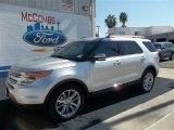2013 Ingot Silver Metallic Ford Explorer Limited #71687825