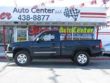 2005 Dark Blue Metallic Chevrolet Silverado 1500 Z71 Regular Cab 4x4 #7155681