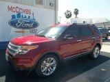 2013 Ruby Red Metallic Ford Explorer XLT #71687823