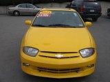 2003 Yellow Chevrolet Cavalier LS Sport Coupe #7131626
