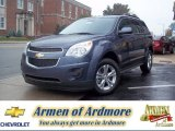 2013 Atlantis Blue Metallic Chevrolet Equinox LT #71688041
