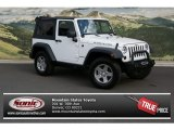 2011 Bright White Jeep Wrangler Rubicon 4x4 #71687749