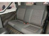 2011 Jeep Wrangler Rubicon 4x4 Rear Seat