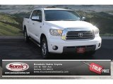 2008 Super White Toyota Tundra Limited CrewMax 4x4 #71687743