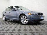 2004 Steel Blue Metallic BMW 3 Series 325i Sedan #71688276