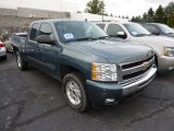 2009 Blue Granite Metallic Chevrolet Silverado 1500 LT Extended Cab 4x4 #71745530