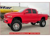 2005 Flame Red Dodge Ram 1500 SLT Quad Cab 4x4 #71745140