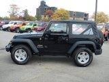 2012 Black Jeep Wrangler Sport S 4x4 #71744741
