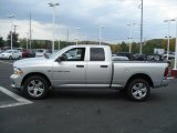 2012 Bright Silver Metallic Dodge Ram 1500 Express Quad Cab 4x4 #71744729