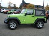 2012 Gecko Green Jeep Wrangler Sport S 4x4 #71744725