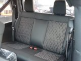 2012 Jeep Wrangler Oscar Mike Freedom Edition 4x4 Rear Seat