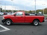 2012 Deep Molten Red Pearl Dodge Ram 1500 ST Regular Cab 4x4 #71744717