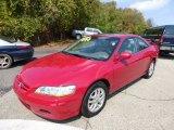 2002 San Marino Red Honda Accord EX V6 Coupe #71745128