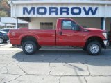 2012 Vermillion Red Ford F250 Super Duty XL Regular Cab 4x4 #71744692