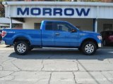 2012 Blue Flame Metallic Ford F150 XLT SuperCab 4x4 #71744691