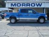 2012 Blue Flame Metallic Ford F150 XLT SuperCrew 4x4 #71744683