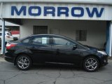 2013 Tuxedo Black Ford Focus SE Sedan #71744676