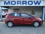 2013 Ruby Red Ford Fiesta SE Hatchback #71744665