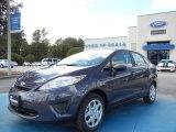2013 Violet Gray Ford Fiesta S Sedan #71744626
