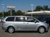 2012 Silver Sky Metallic Toyota Sienna LE AWD #71744997